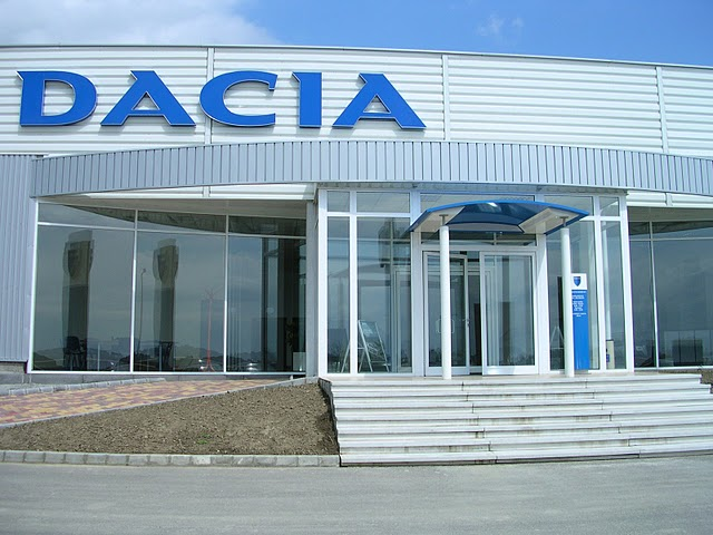 Dacia autószalon Székesfehérvár